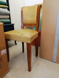 Cadeira antes
